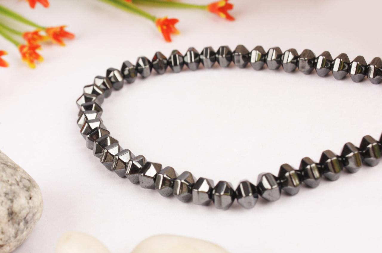 Hematite Bati Necklace