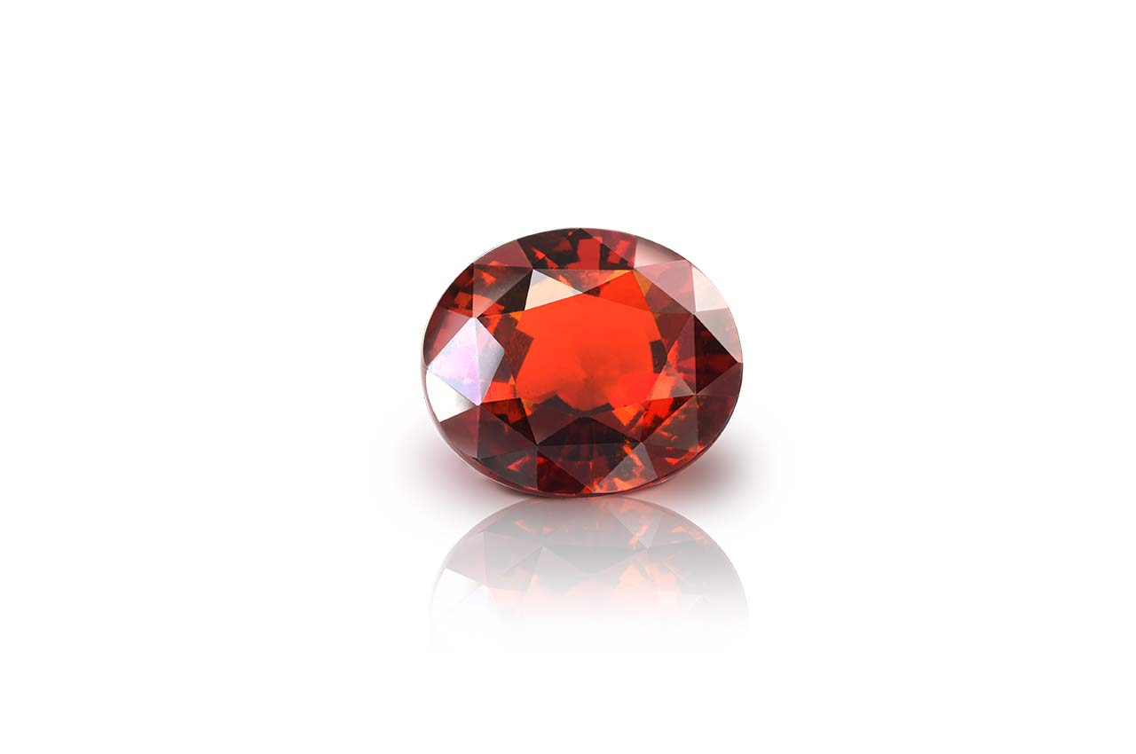 Hessonite Garnet - Gomed - 10.40 Carats