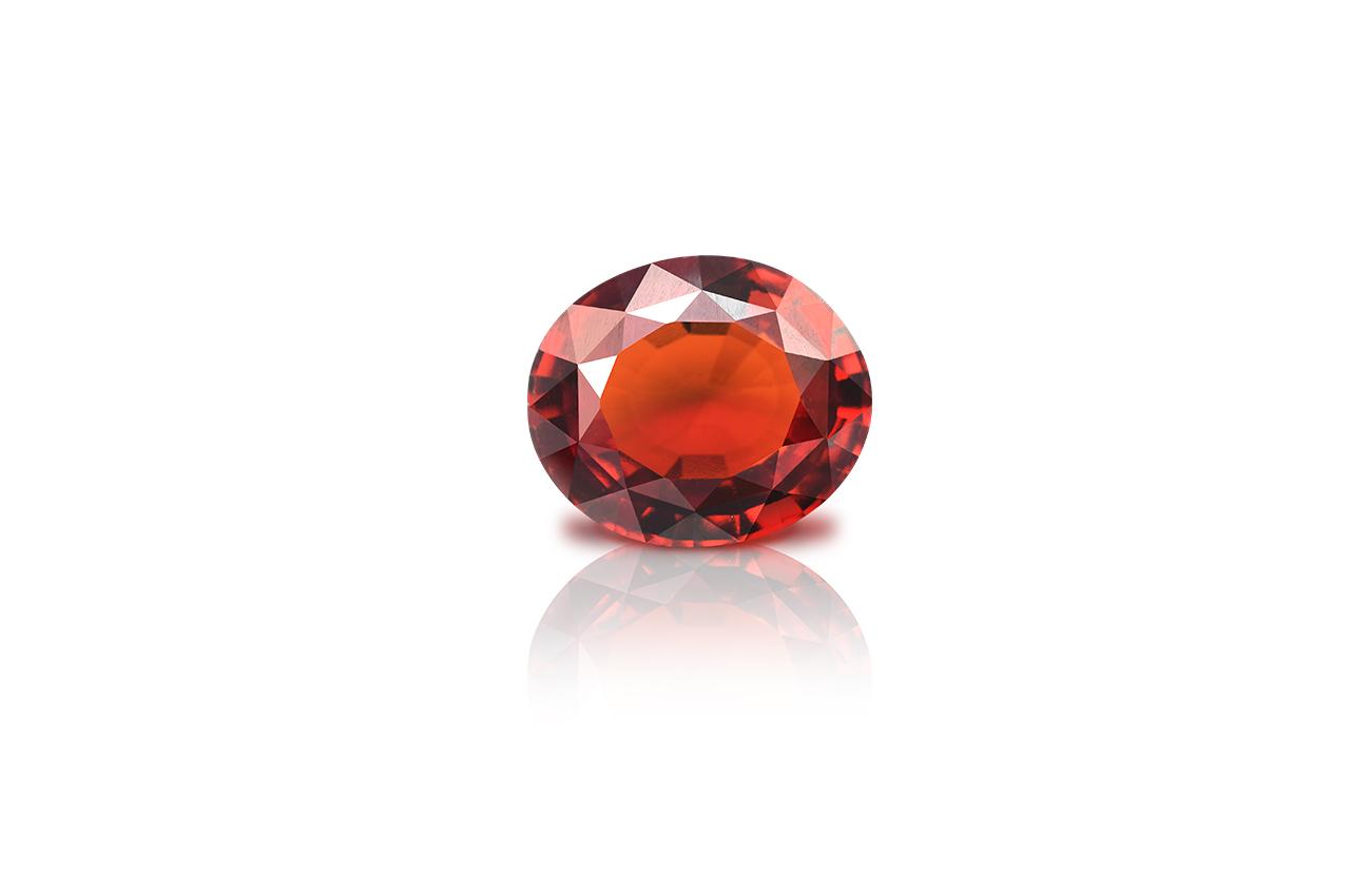 Hessonite Garnet - Gomed - 13.45 Carats
