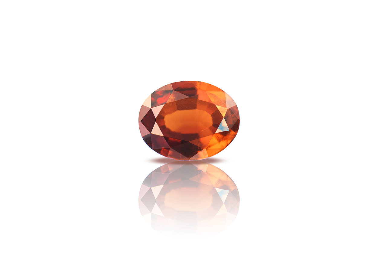 Hessonite Garnet - Gomed - 2.50 Carats
