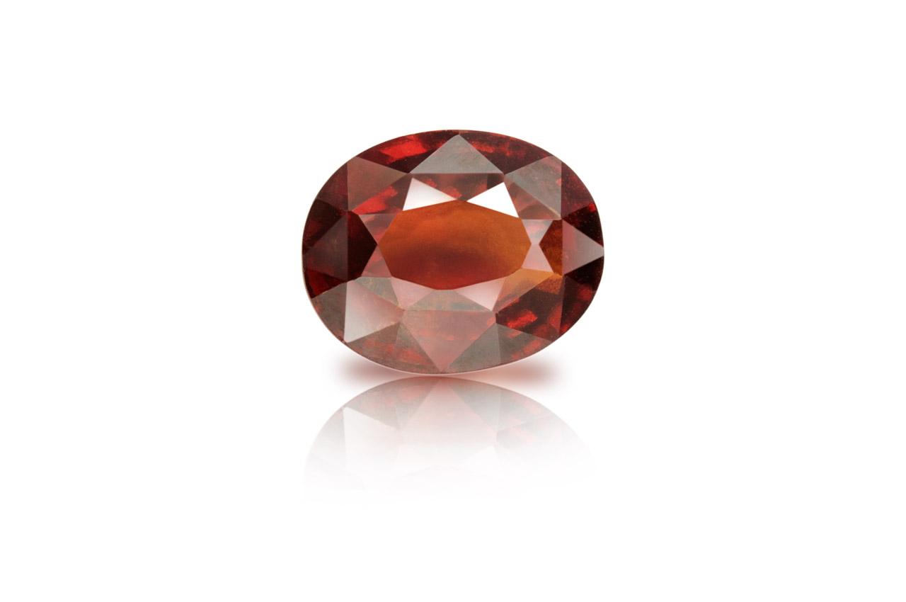 Hessonite Garnet - Gomed - 8.50 Carats