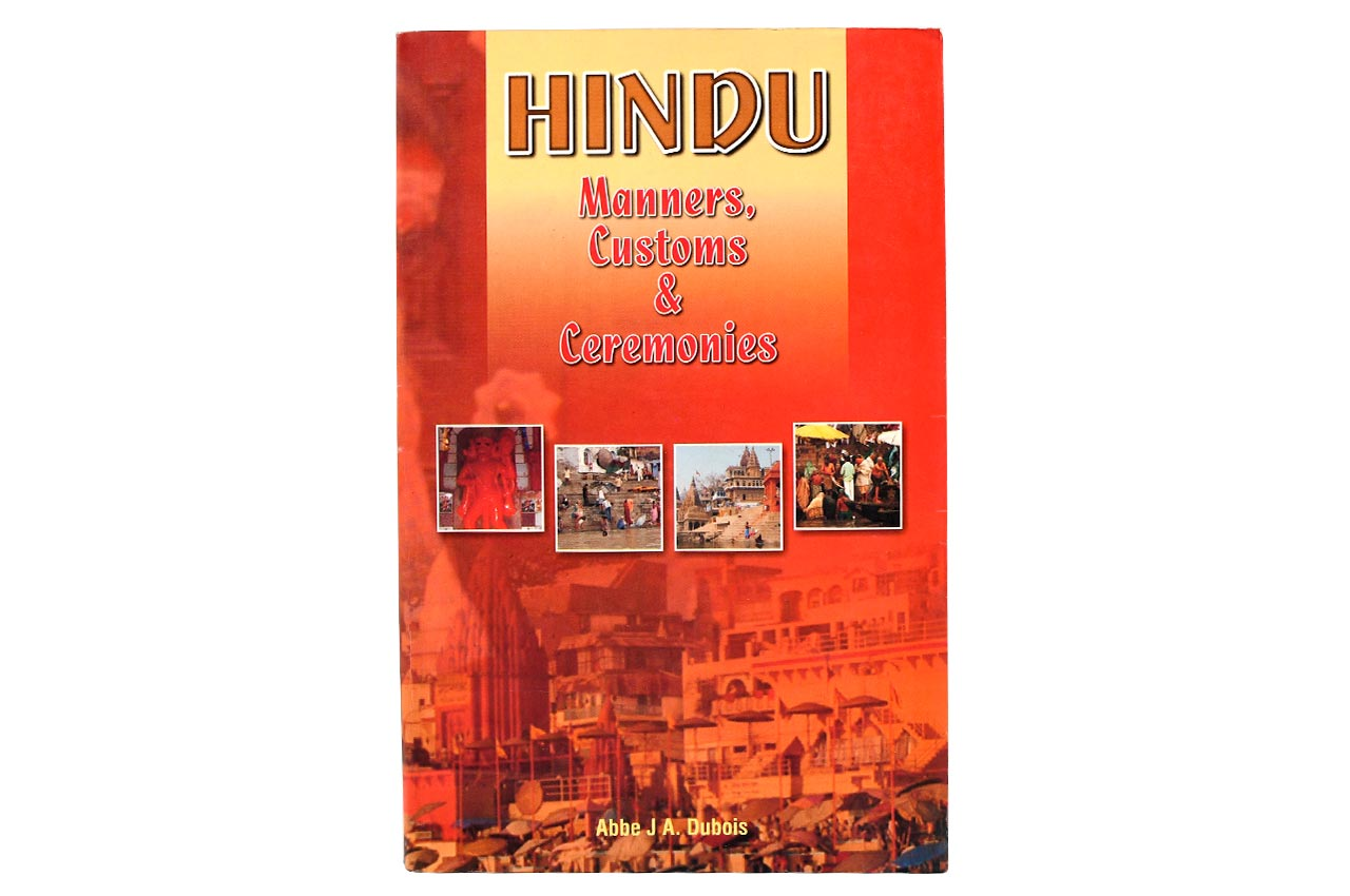 Hindu Manners Customs and Ceremonies