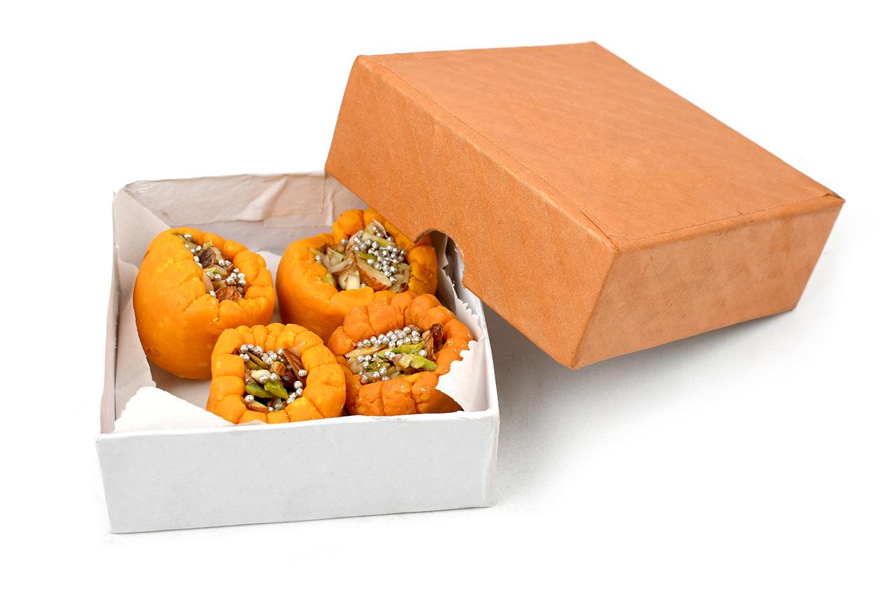 Kesari Dry Fruit Peda for Prasad