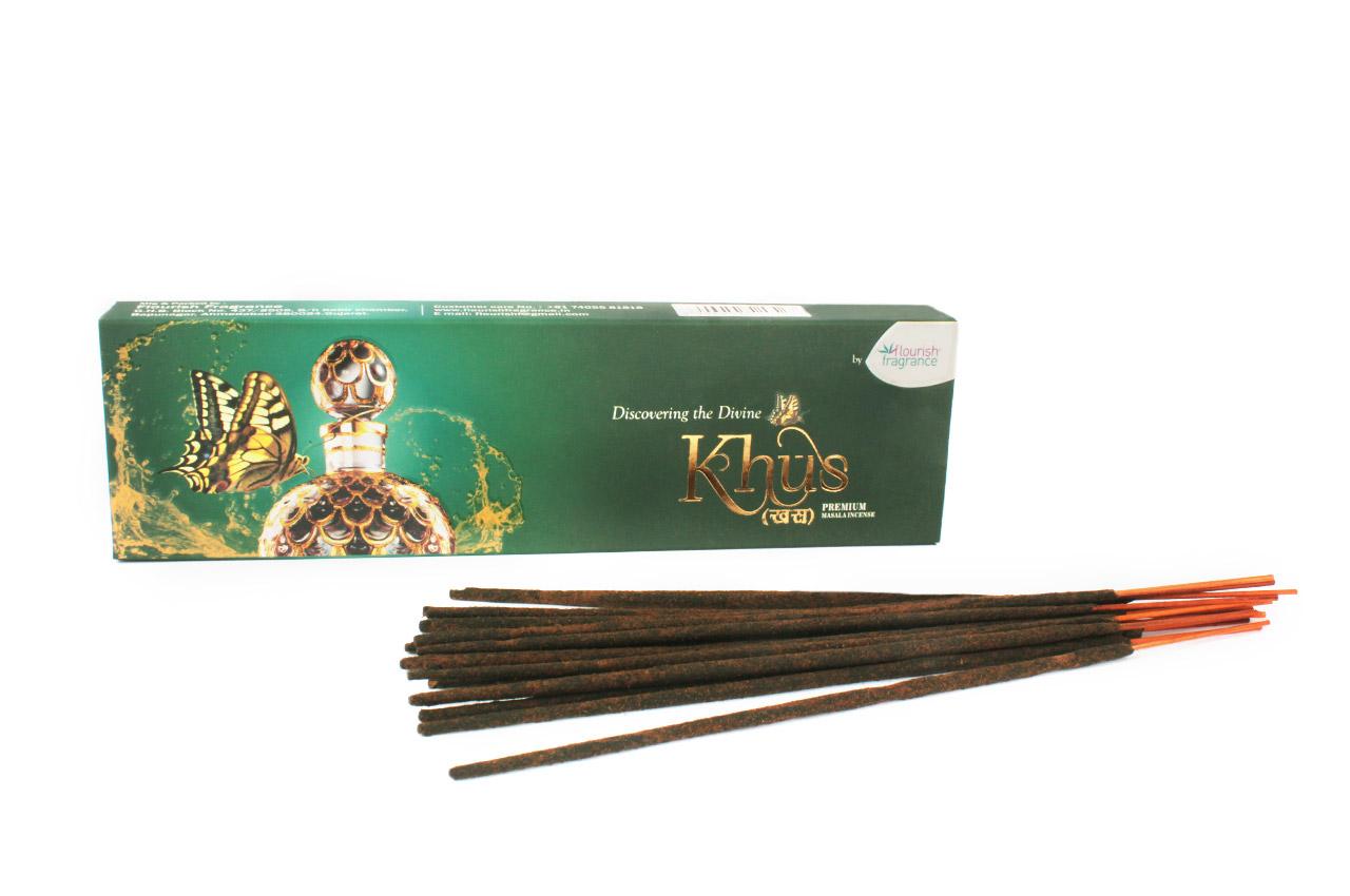 Khus - Premium Masala Incense