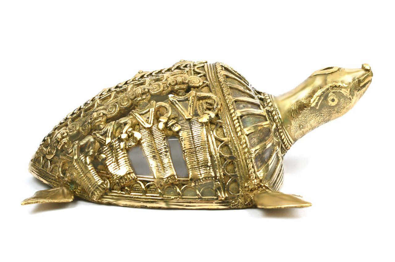 Kurma - Dhokra metal art