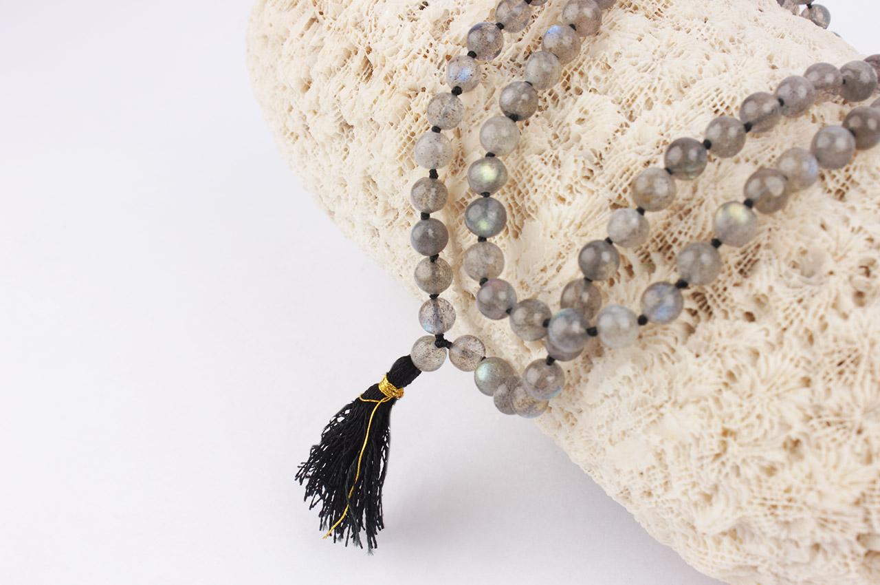 Labradorite Necklace - 6 mm