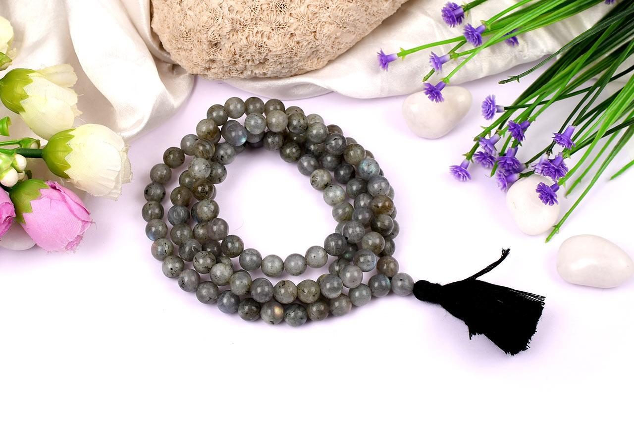Labradorite Necklace - 8 mm