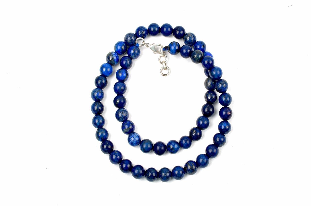 Lapis Lazuli round mala