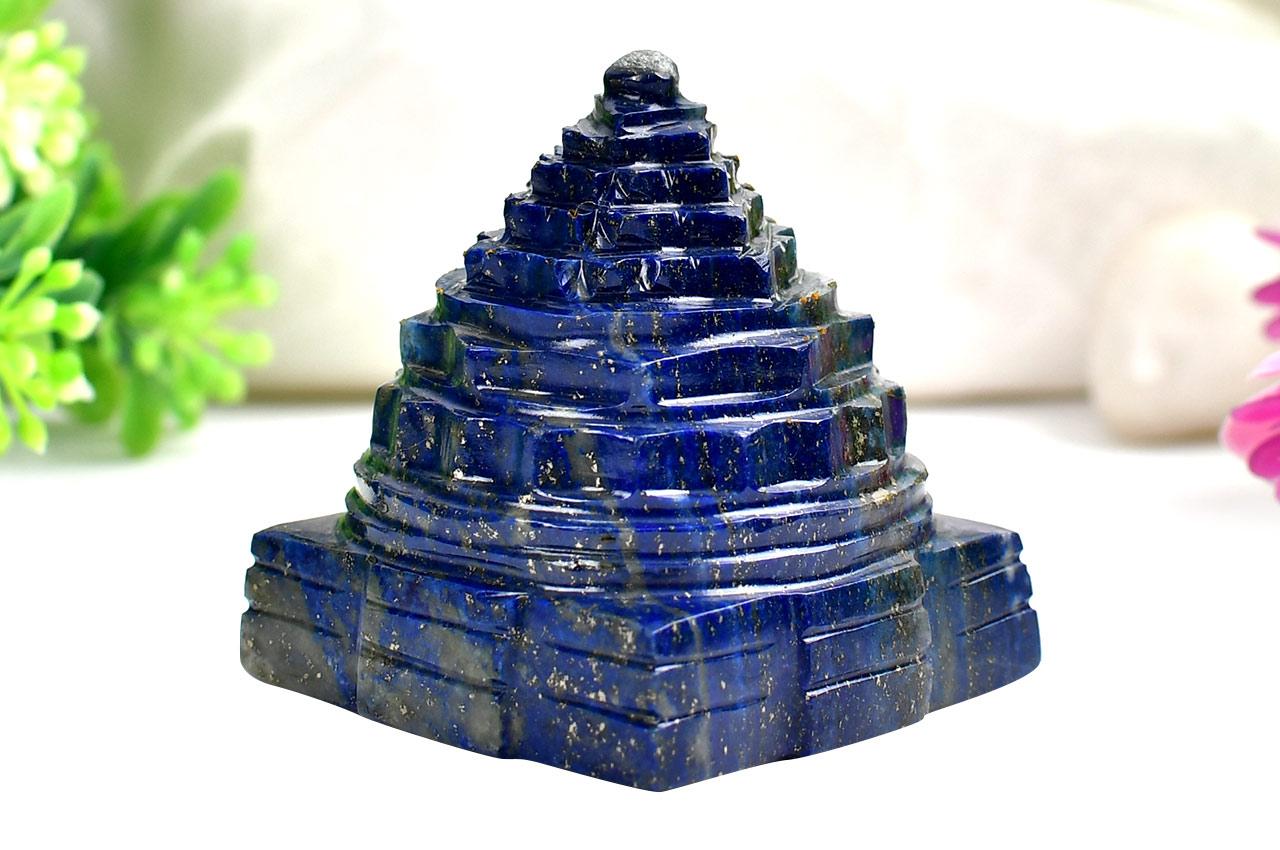 Lapis Lazuli Shree Yantra - 91 to 100 gms