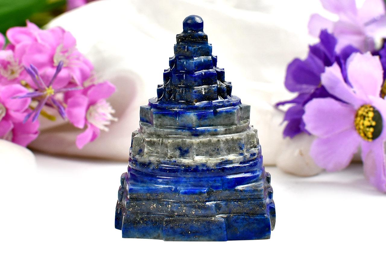 Lapis Lazuli Shree Yantra - 167 gms