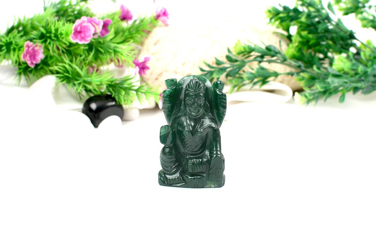 Laxmi in Green Jade