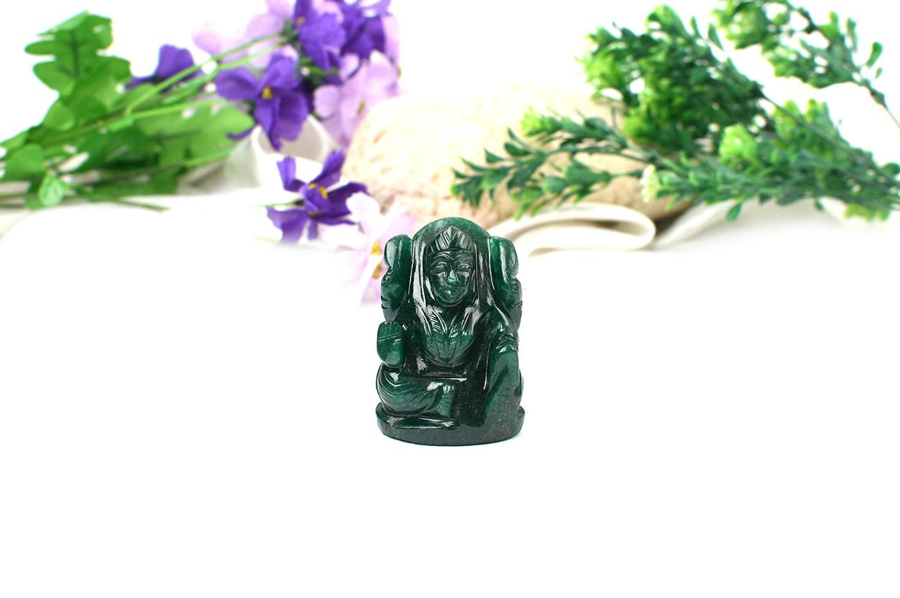 Laxmi in Green Jade - I