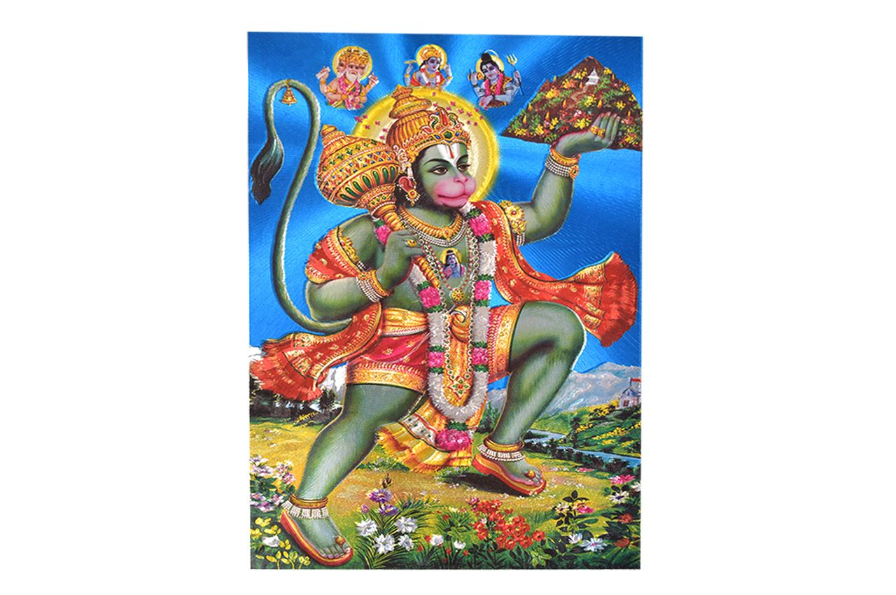 Lord Hanuman Photo - Medium