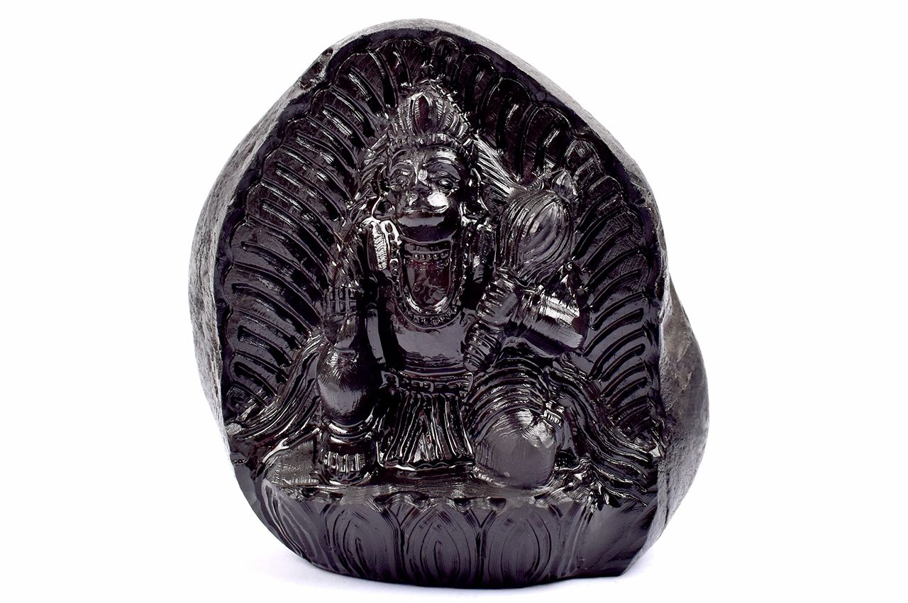 Lord Hanuman Shaligram Murti - III