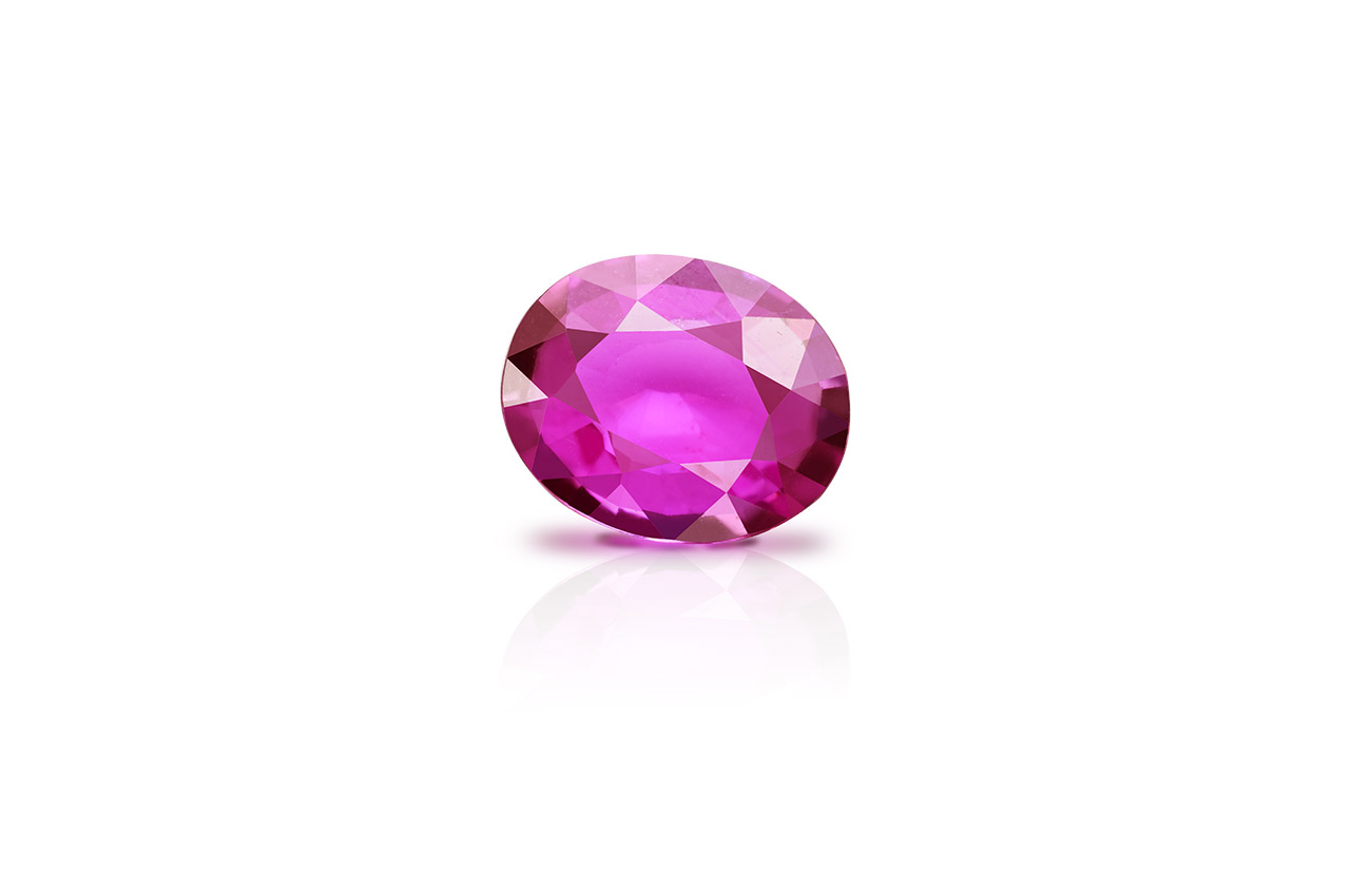 Madagascar Ruby - 1.92 carats - Oval