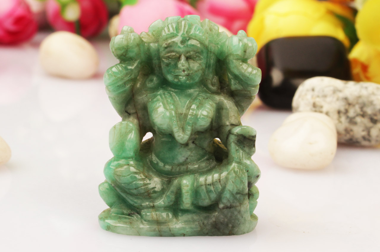 MahaLaxmi in Emerald - 103.35 crt