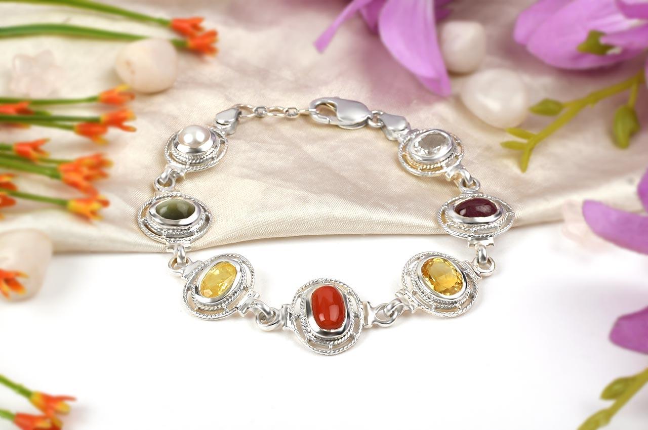 Mahashakti Ratna Kavacham - 3 to 4 carat gems - Design I