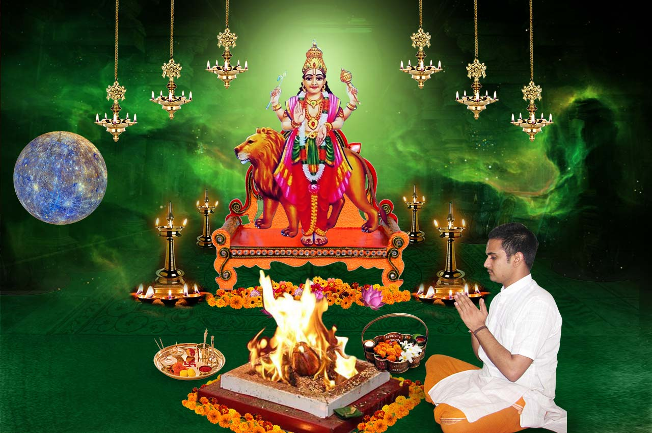 Monthly Budh Grah Shanti Puja and Homa
