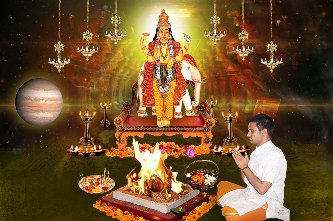 Monthly Guru Grah Shanti Puja and Homa