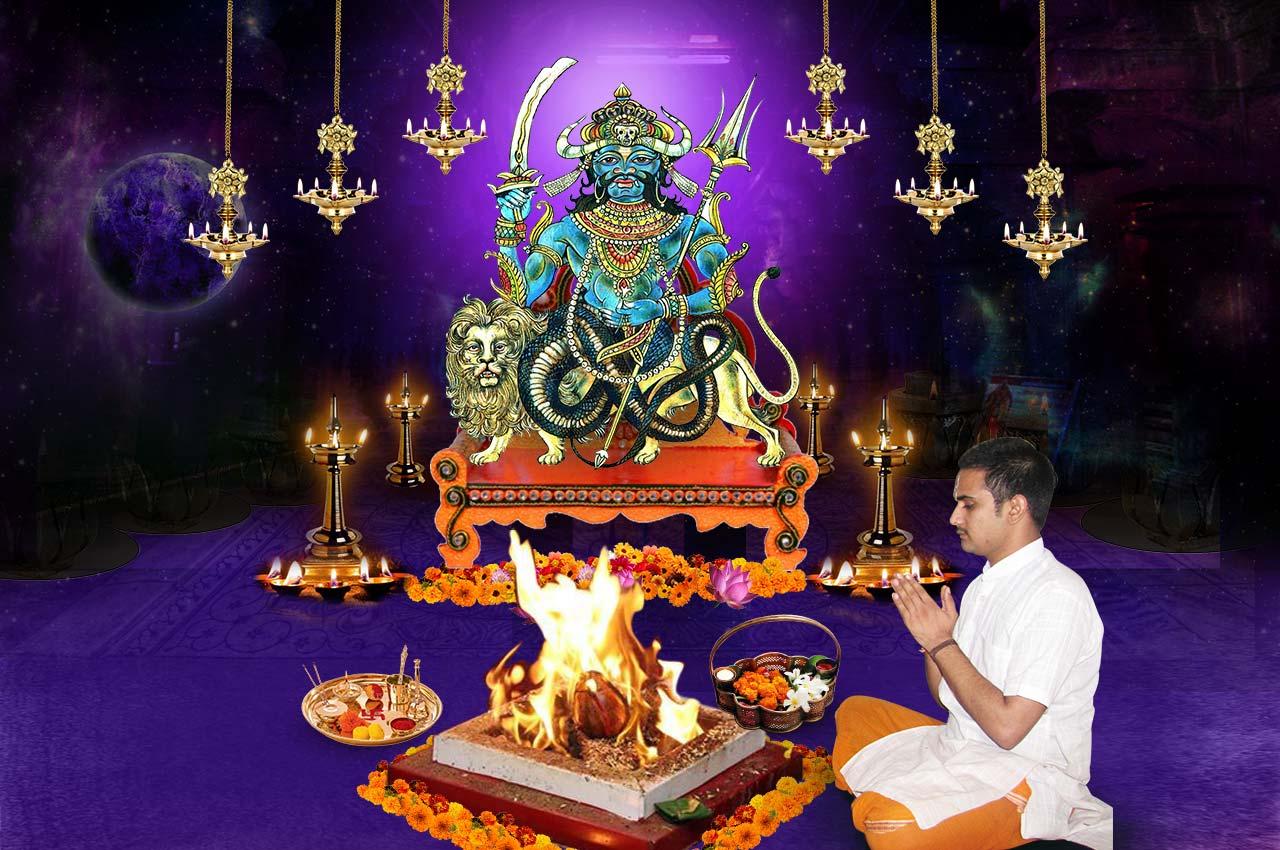 Monthly Rahu Grah Shanti Puja and Homa