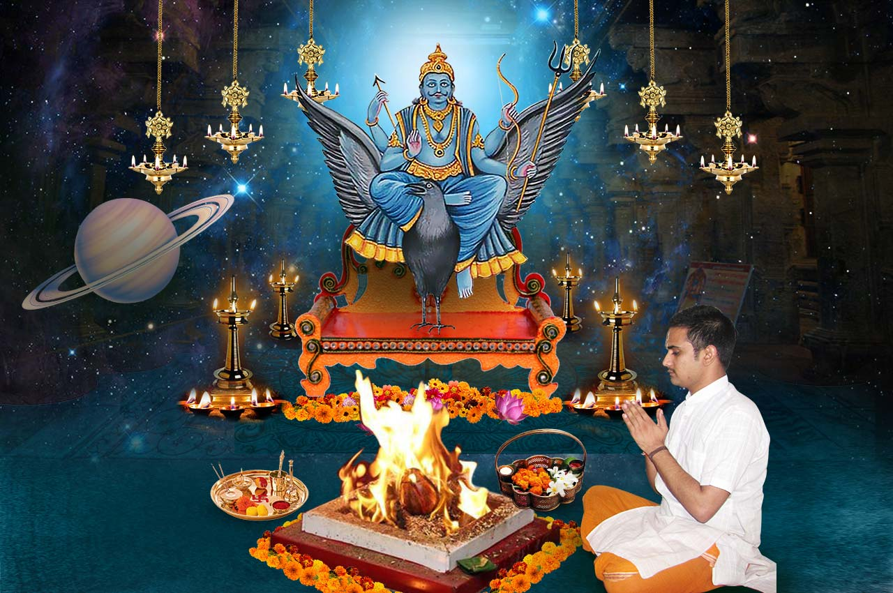 Monthly Shani Grah Shanti Puja and Homa