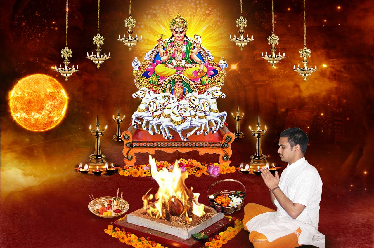 Monthly Surya Grah Shanti Puja and Homa