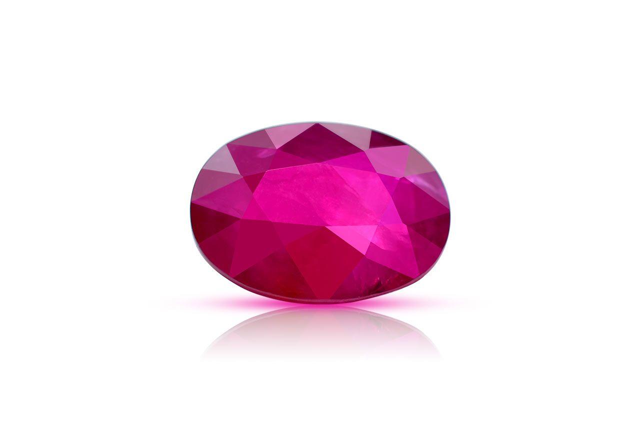 Natural old Burma Ruby - 4.68 carats