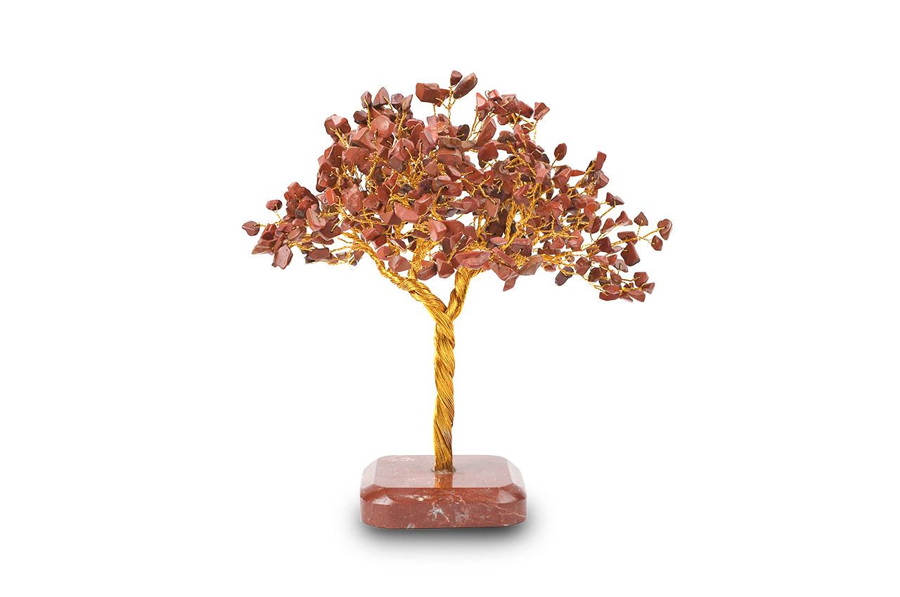 Natural Red Jasper Chakra Vastu Tree - Big