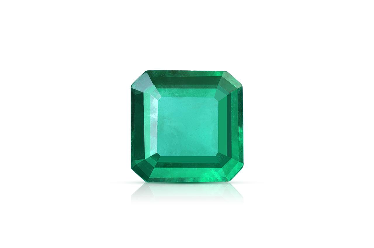 Emerald 4.44 carats Zambian