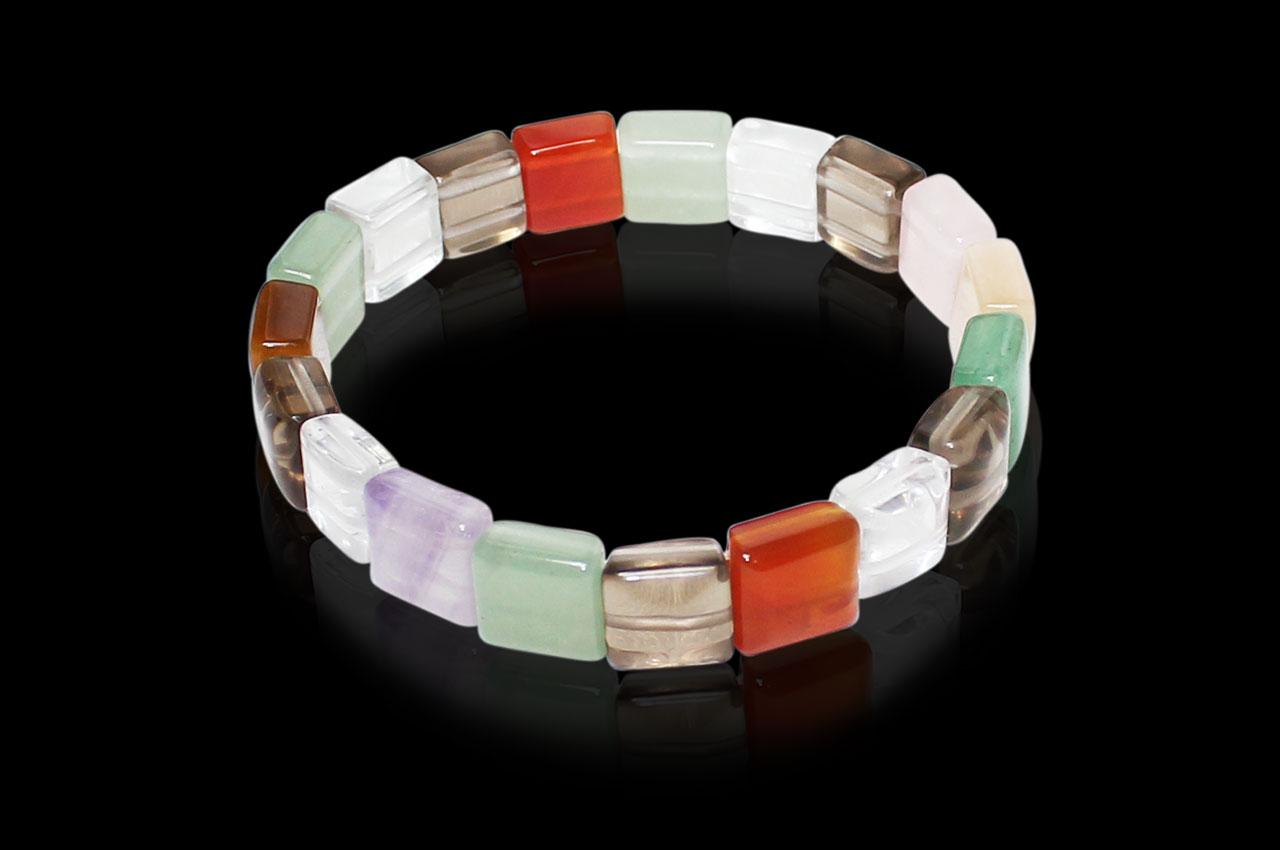 Navratna Gemstone Bracelet