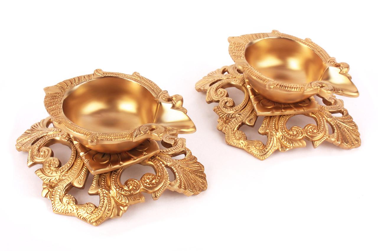 Ornate Aarti Diya - III