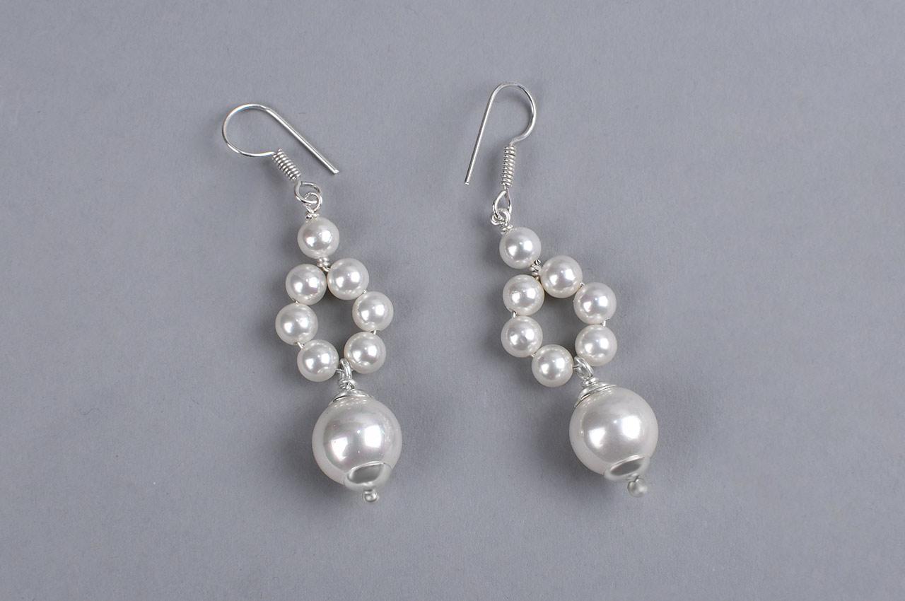 Pearl Earrings - VII