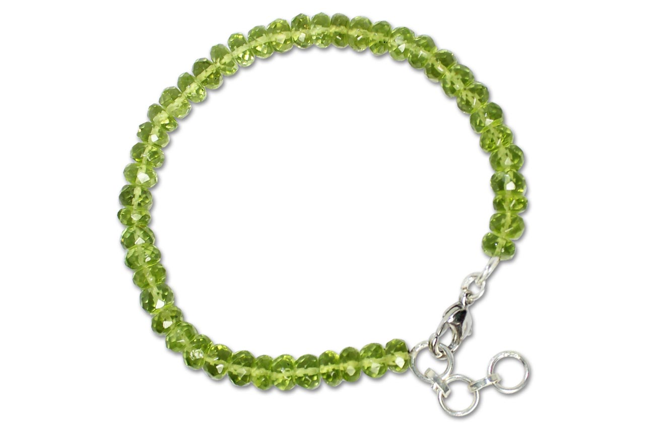 Peridot - Faceted - Bracelet
