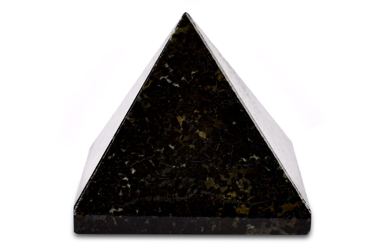Pyramid in Black Tourmaline - 107 gms