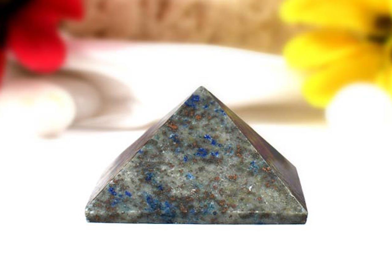 Pyramid in Natural Lapis Lazuli