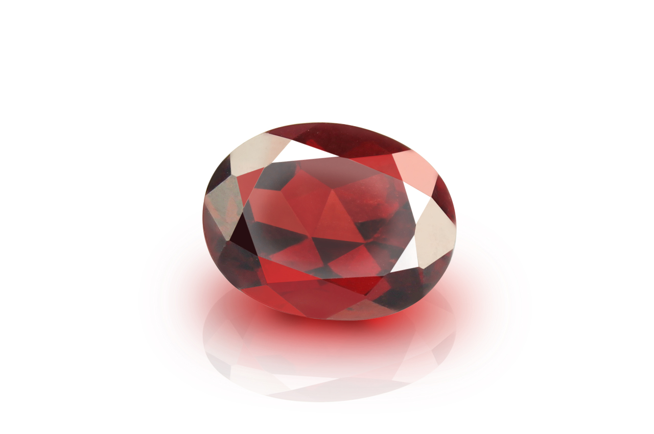 Red Garnet - 5 - 6 carats