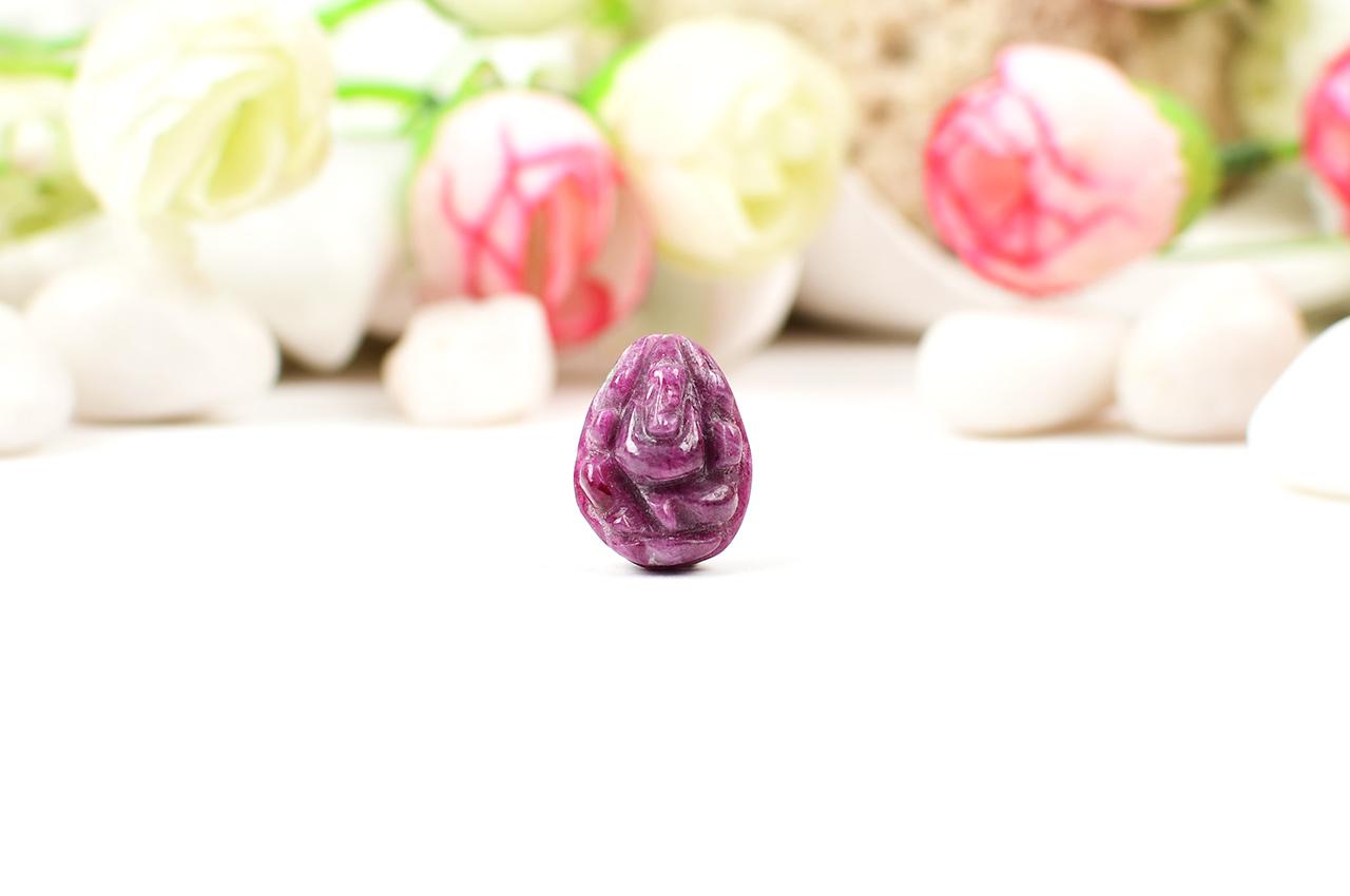 Ruby Ganesh - 20 carats