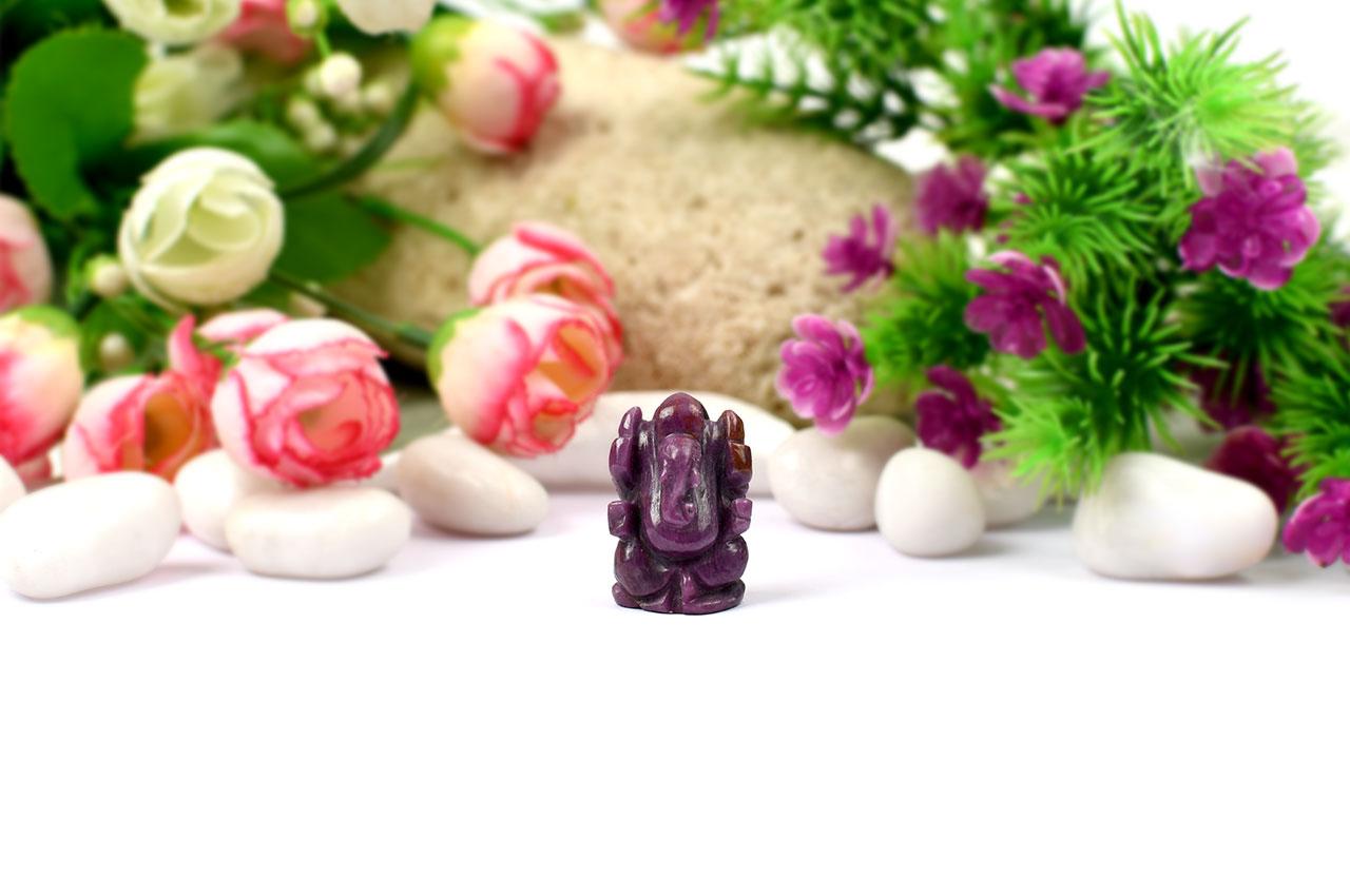 Ruby Ganesh - 85.65  carats
