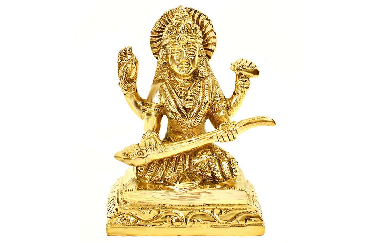 Saraswati in Brass - XIV