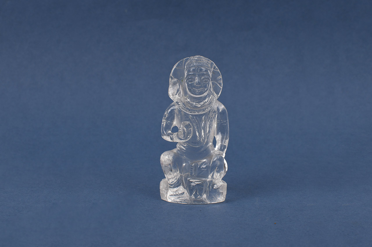Shiv Crystal Statue