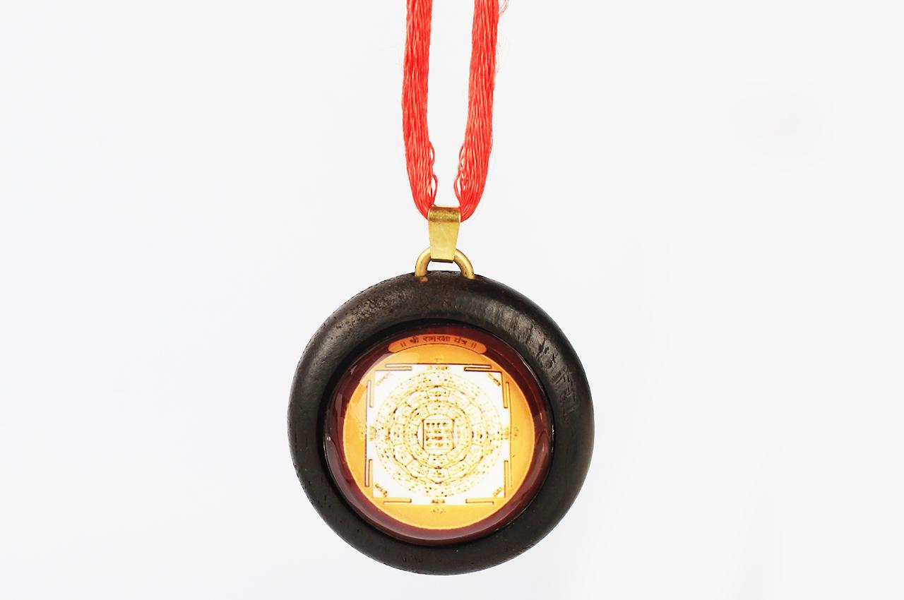 Shree Ramraksha Wooden locket yantra