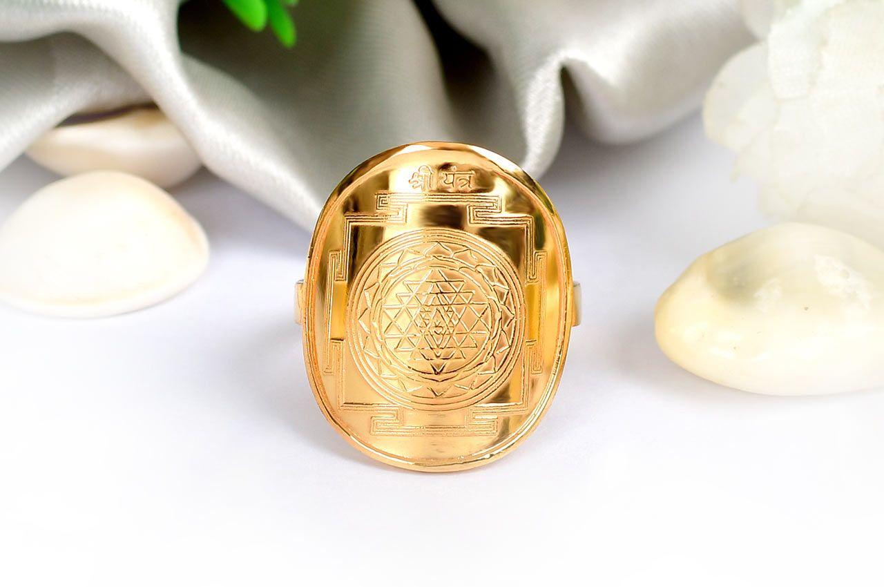 Shree Yantra Ring in Gold