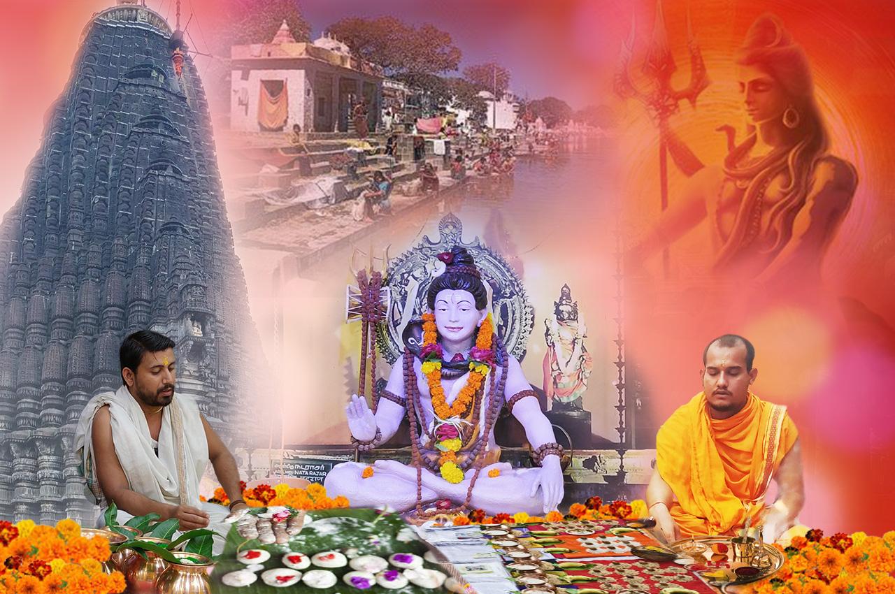 Group Tripindi Shradh Puja at Trimbakeshwar
