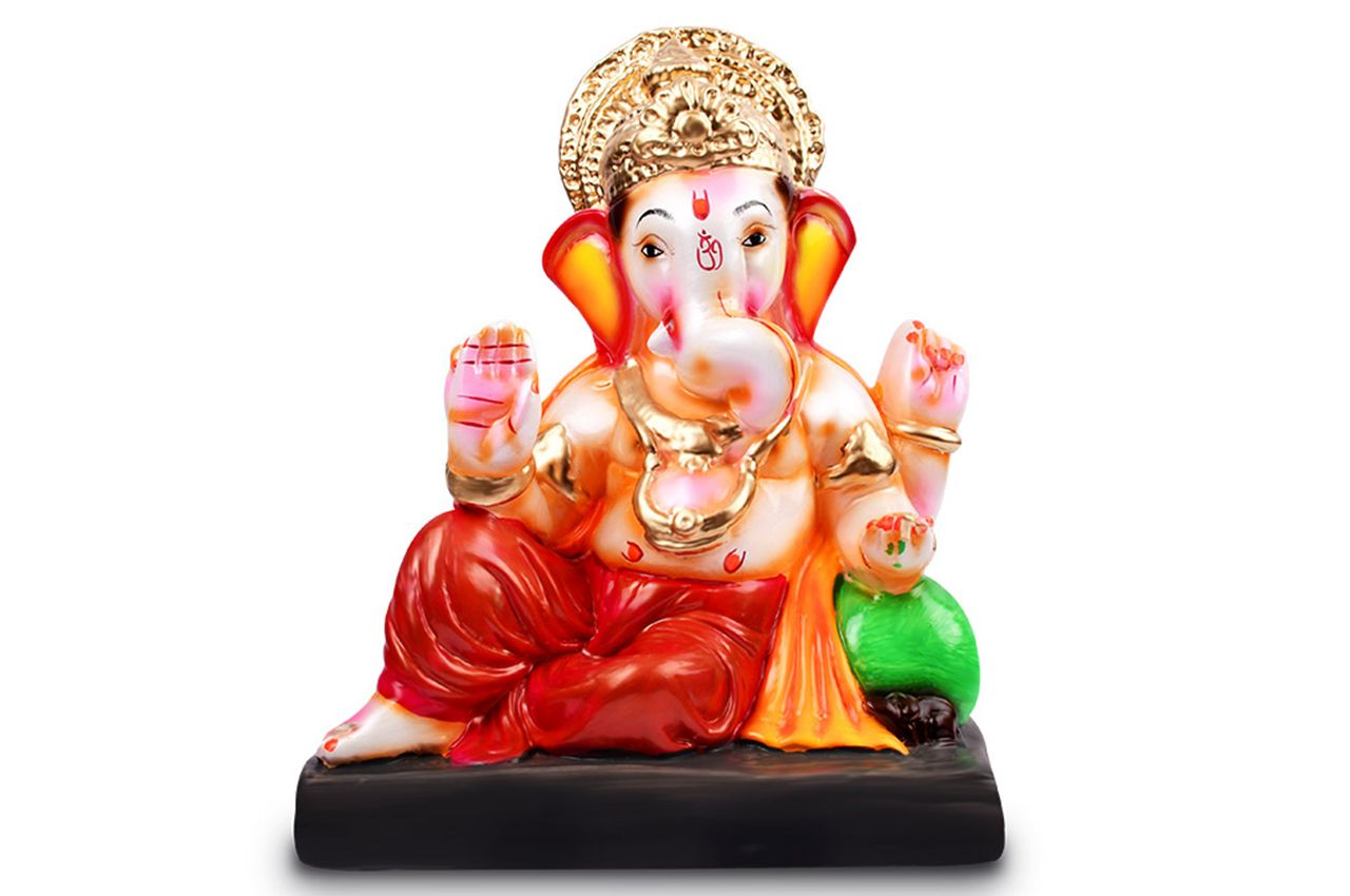 Vighneswar Ganesh with Puja Kit