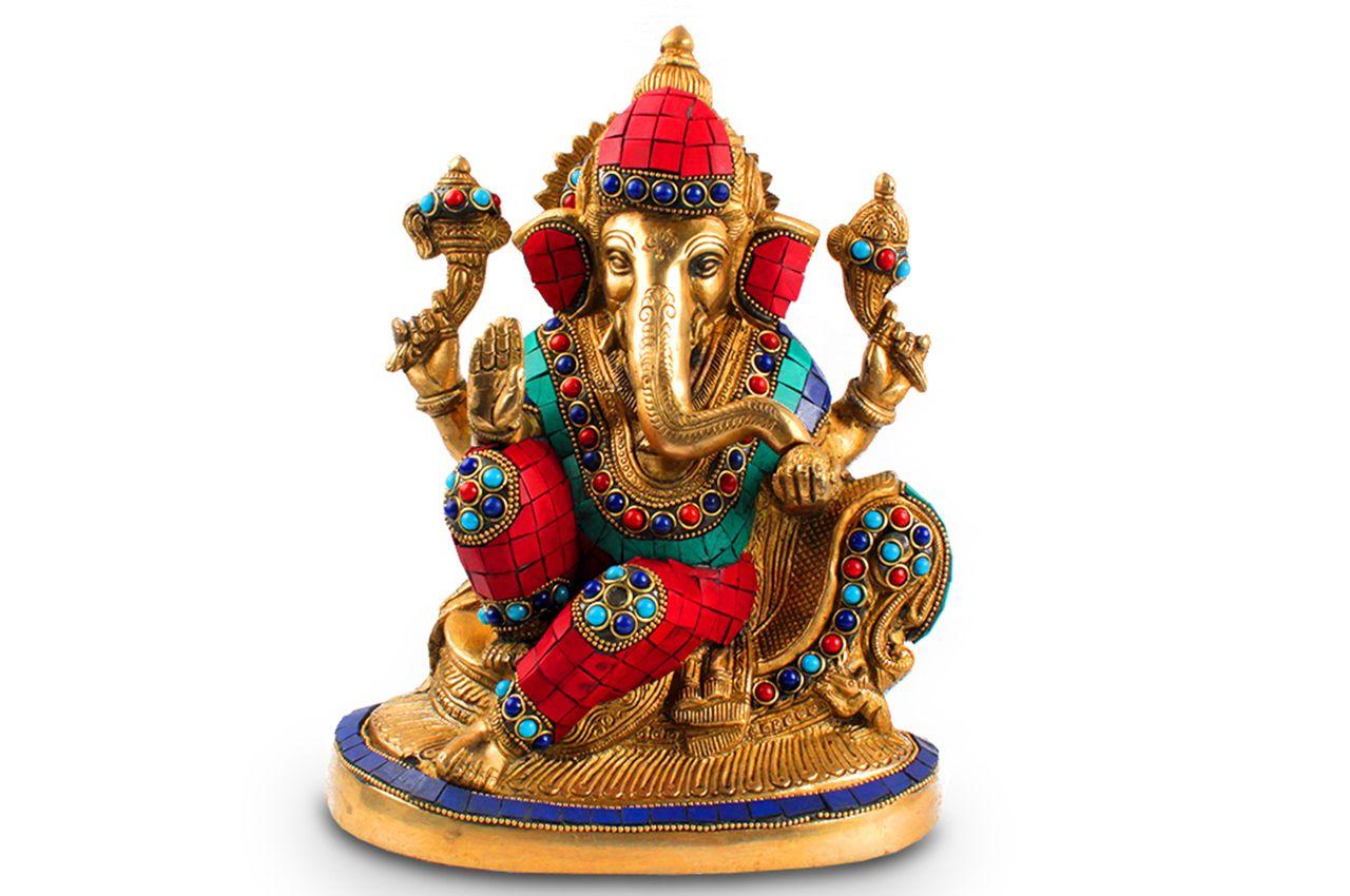 Vishrant Ganesh with stone work - II