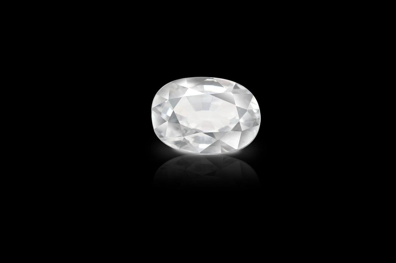 White Zircon - 5 to 6 carats