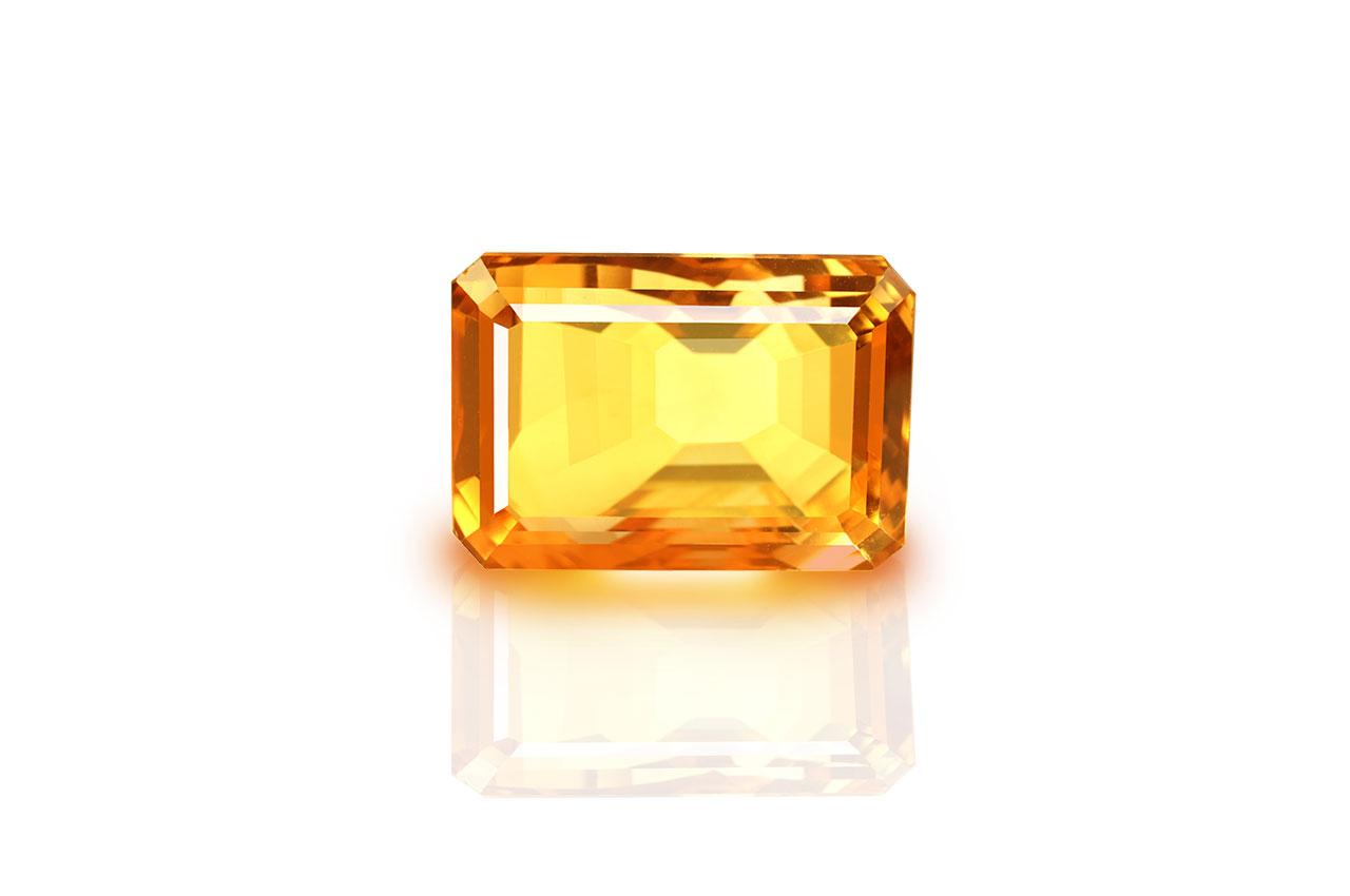 Yellow Citrine - 14.50 carats