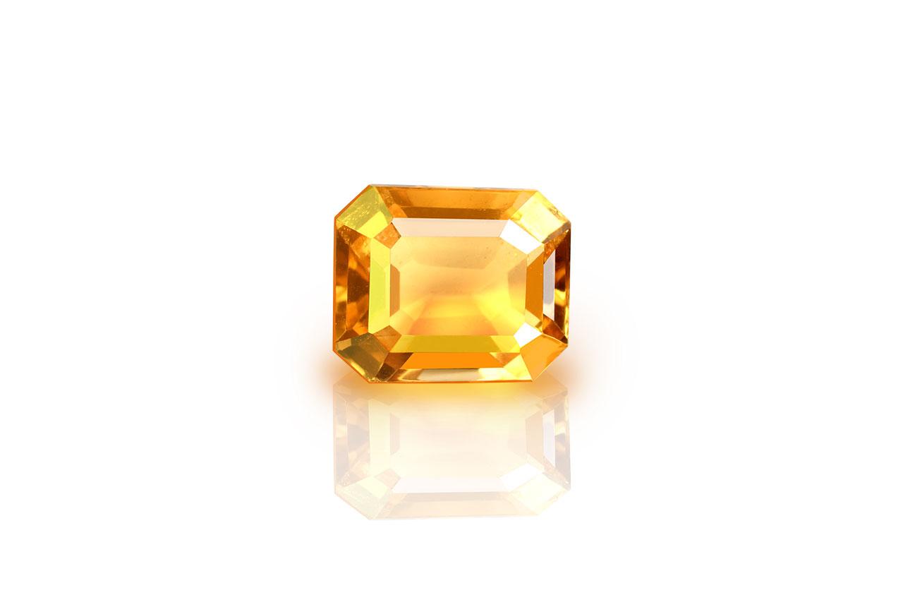Yellow Citrine - 2.80 carats