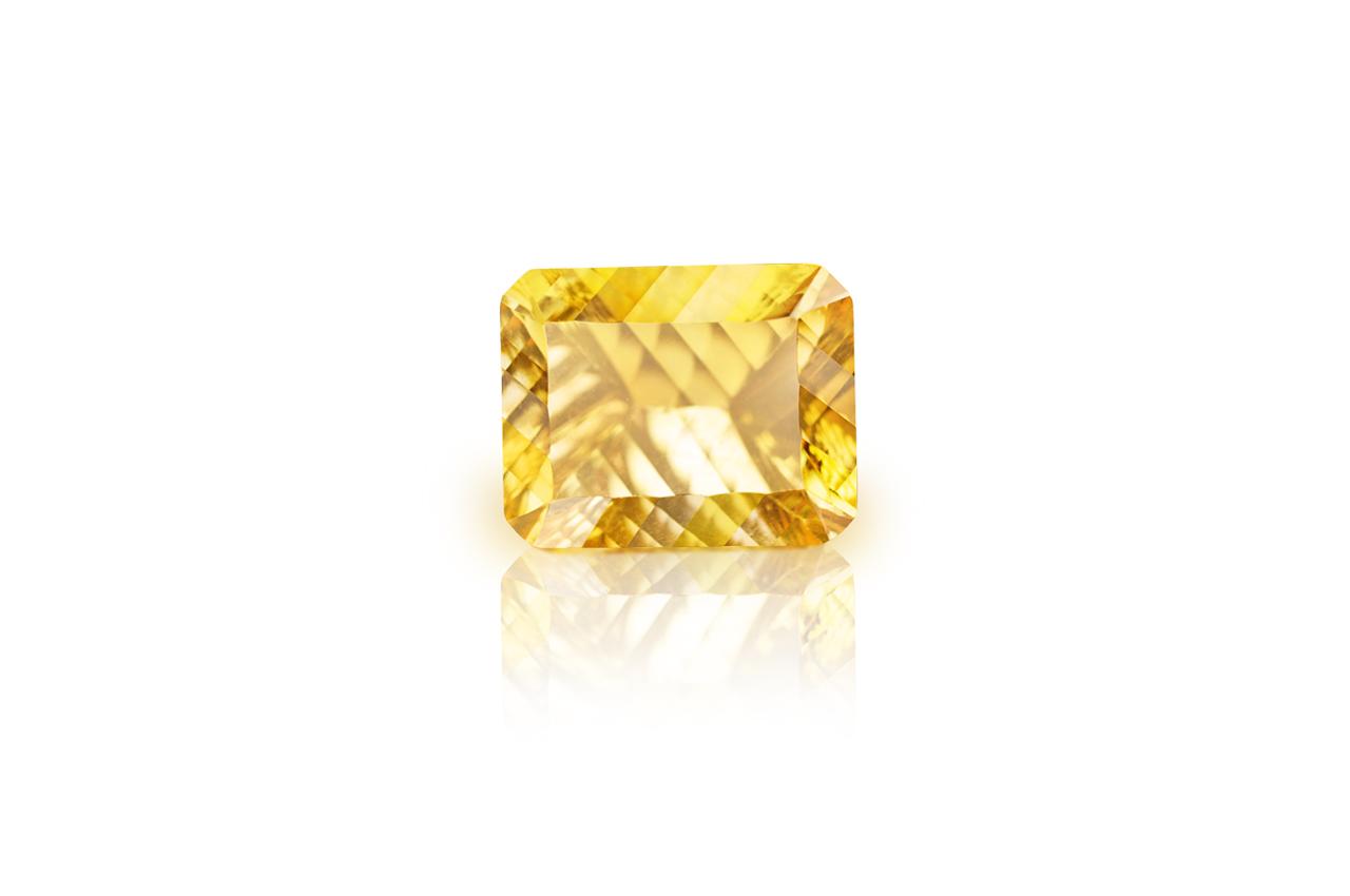 Yellow Citrine Superfine Cutting - 12.10 carats