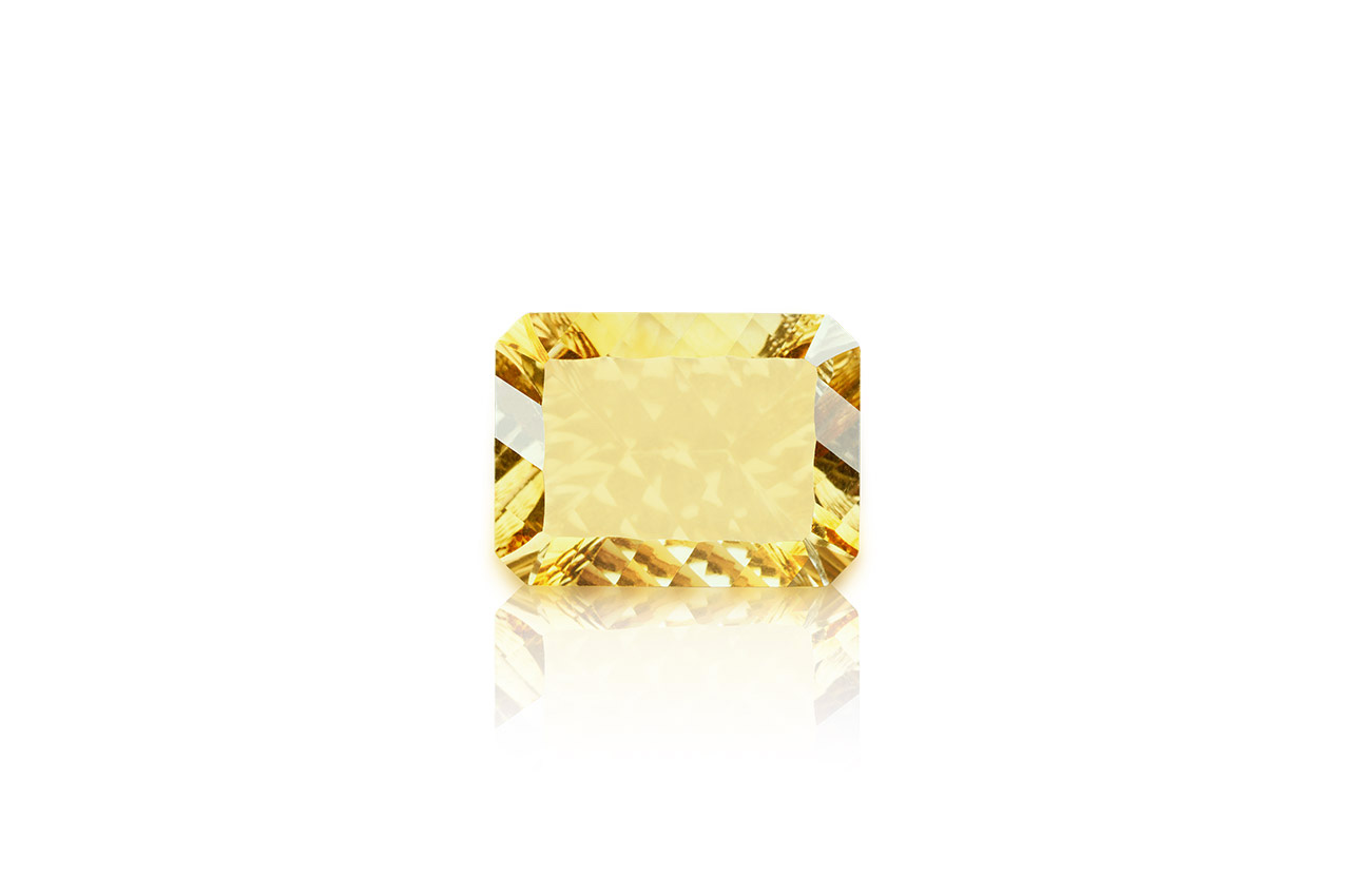 Yellow Citrine Superfine Cutting - 12.85 carats